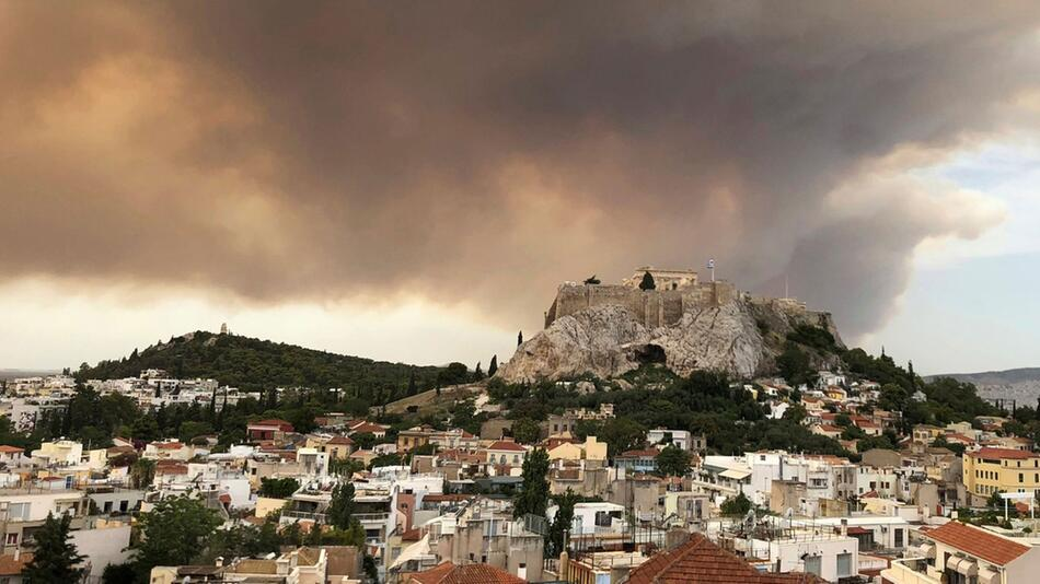 Großbrand in Griechenland