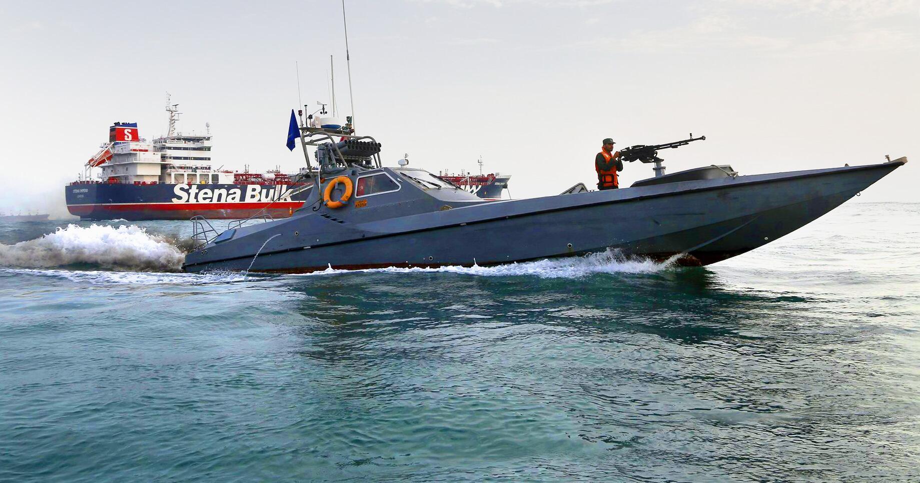 Bild zu Eskalation am Golf - Beschlagnahmung Öltanker