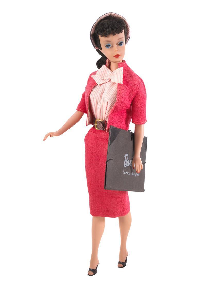 Bild zu 1960 - Modedesigner - Barbie