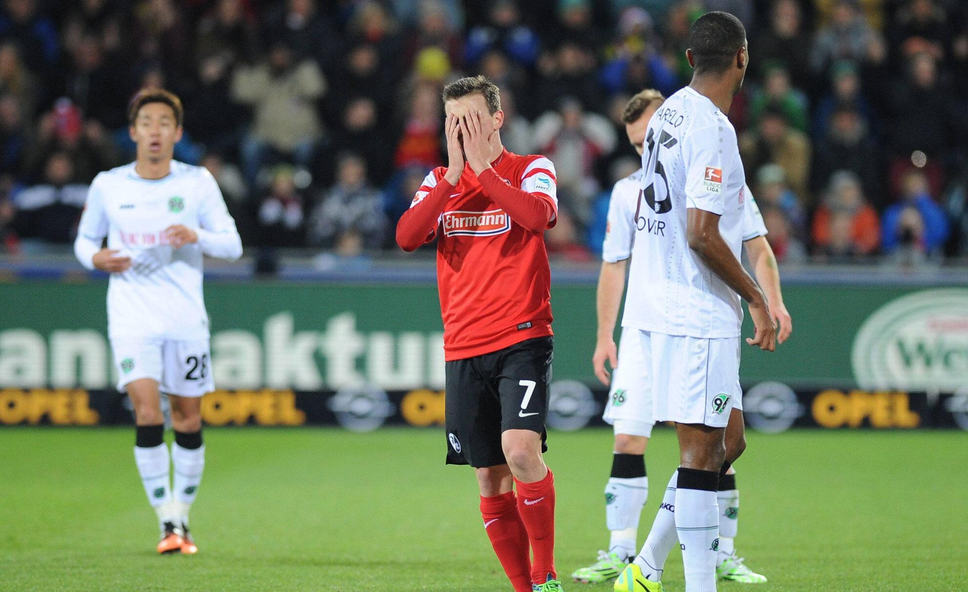 Bild zu SC Freiburg - Hannover 96