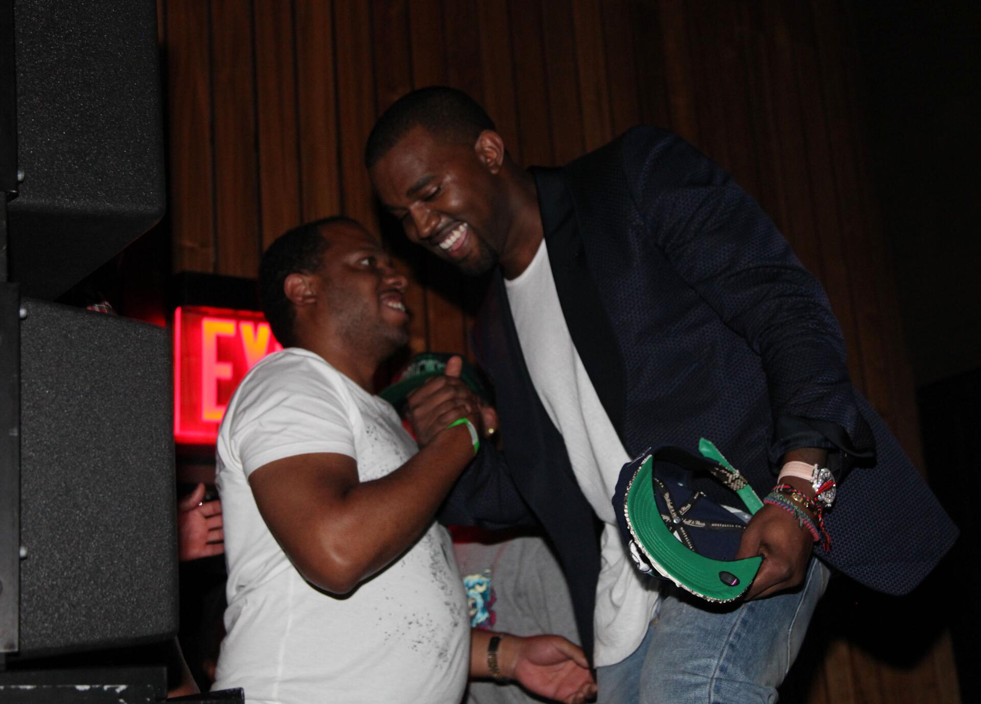 Bild zu Kanye West, No I.D.