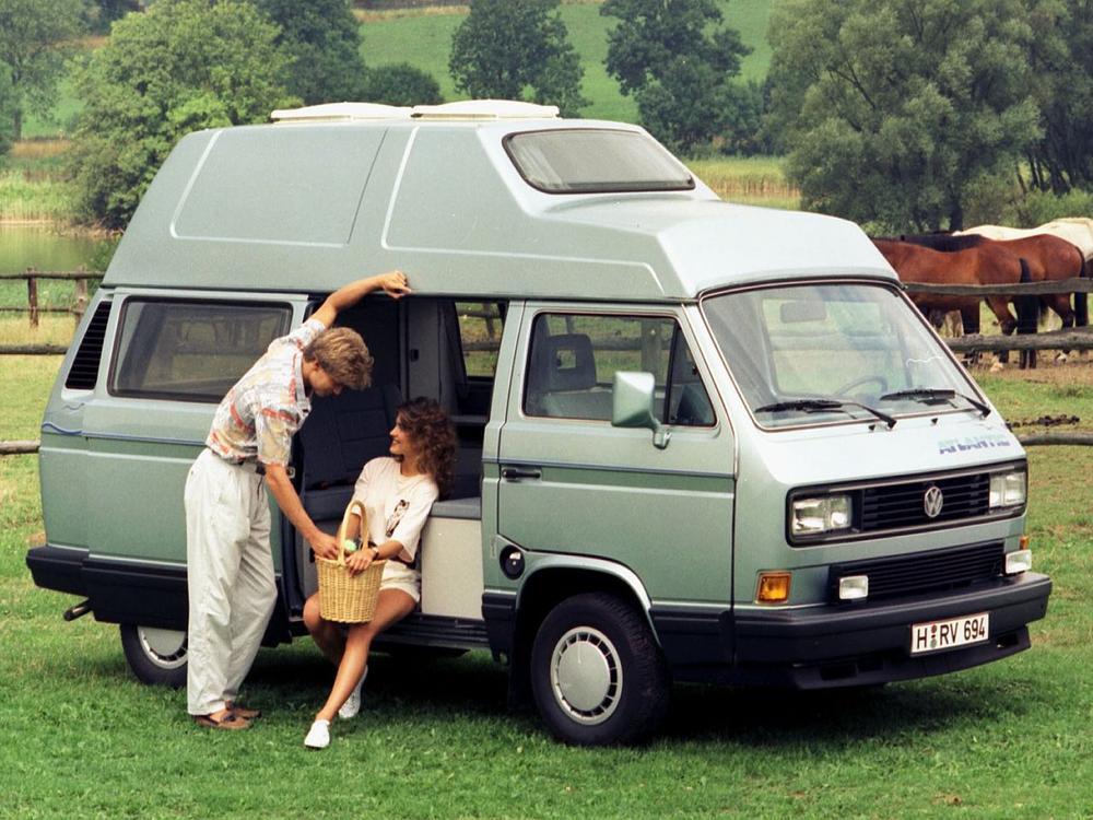 Bild zu Platz 1: VW T3 Westfalia