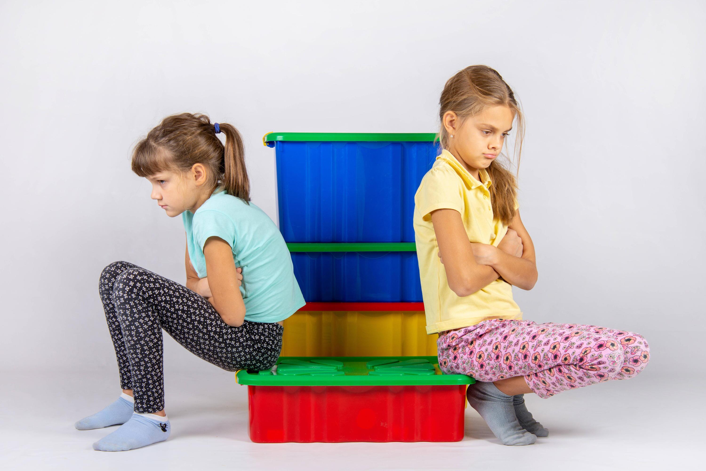 Bild zu Kinder streiten