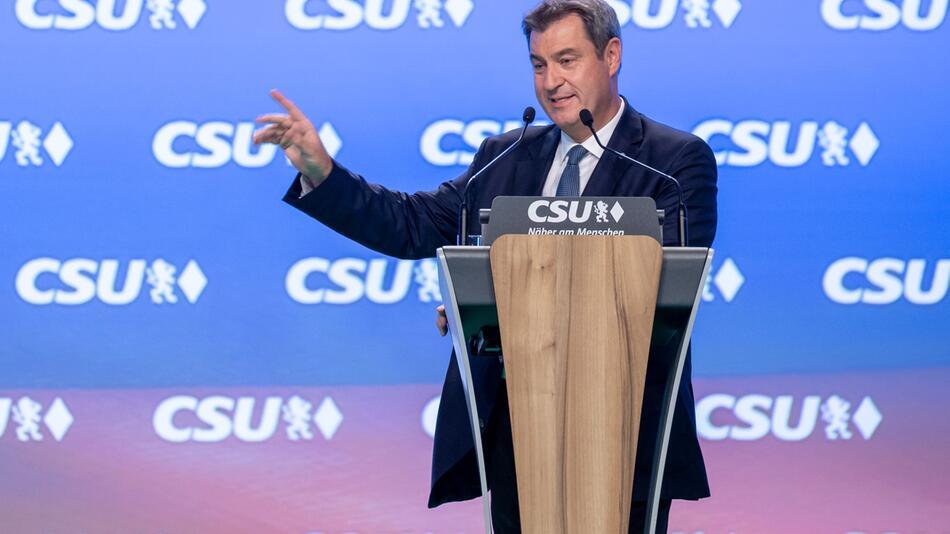 Parteitag der CSU