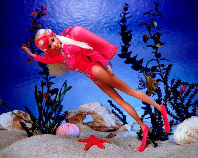 Bild zu 1994 - Taucher - Barbie