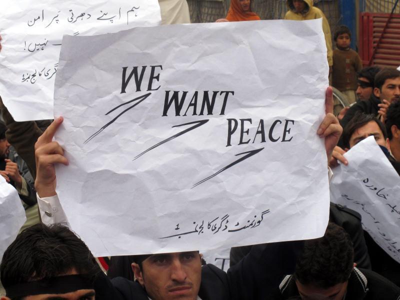 Bild zu «Wir wollen Frieden»