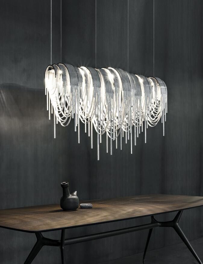 moderne wohnzimmerlampe ihr traumhaus ideen. Black Bedroom Furniture Sets. Home Design Ideas