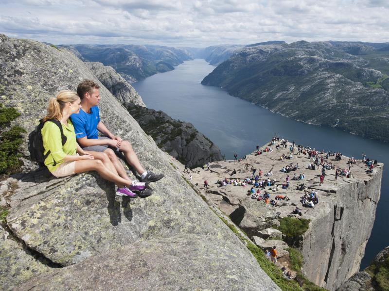Bild zu Preikestolen über dem Lysefjord