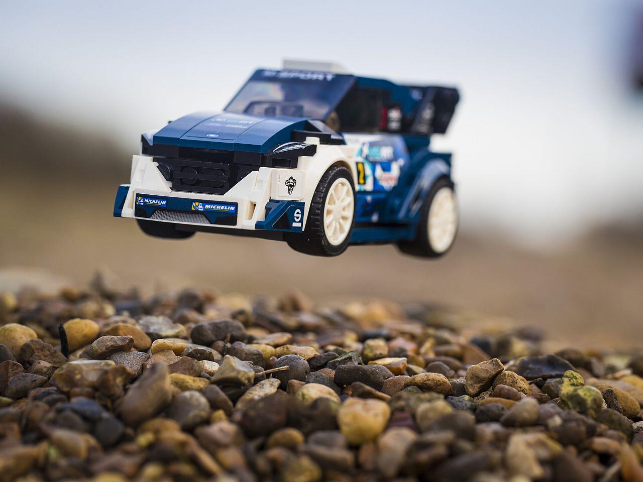 Bild zu Nicht nur für Kinder: Ford Fiesta WRC und 1968er Mustang als LEGO-Collection