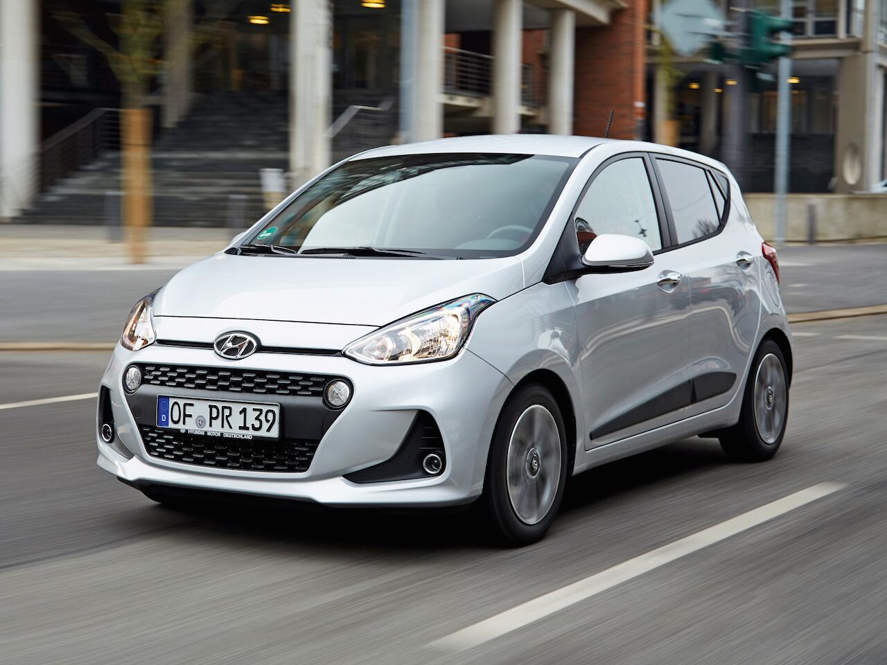 Bild zu Platz 9: Hyundai i10