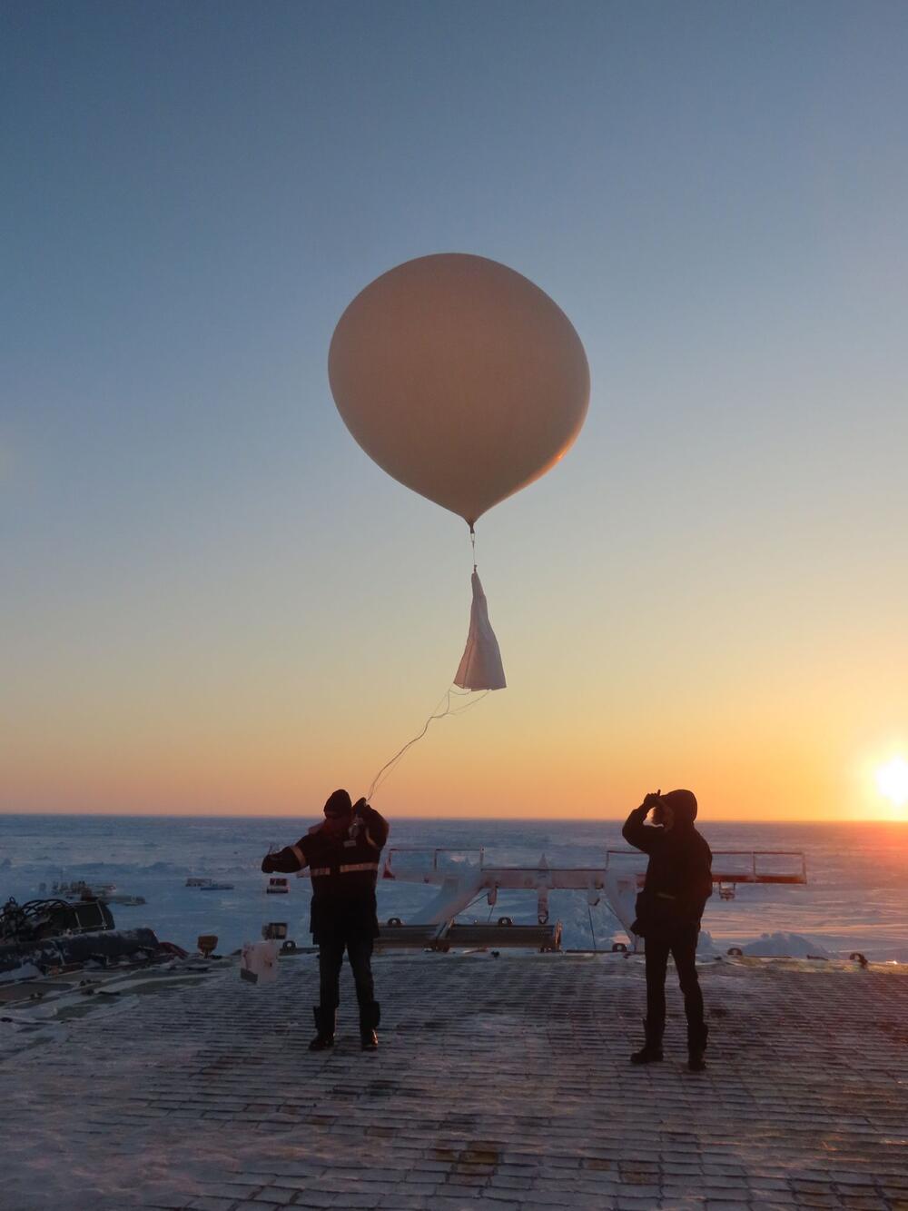 Ozonverlust über der Arktis