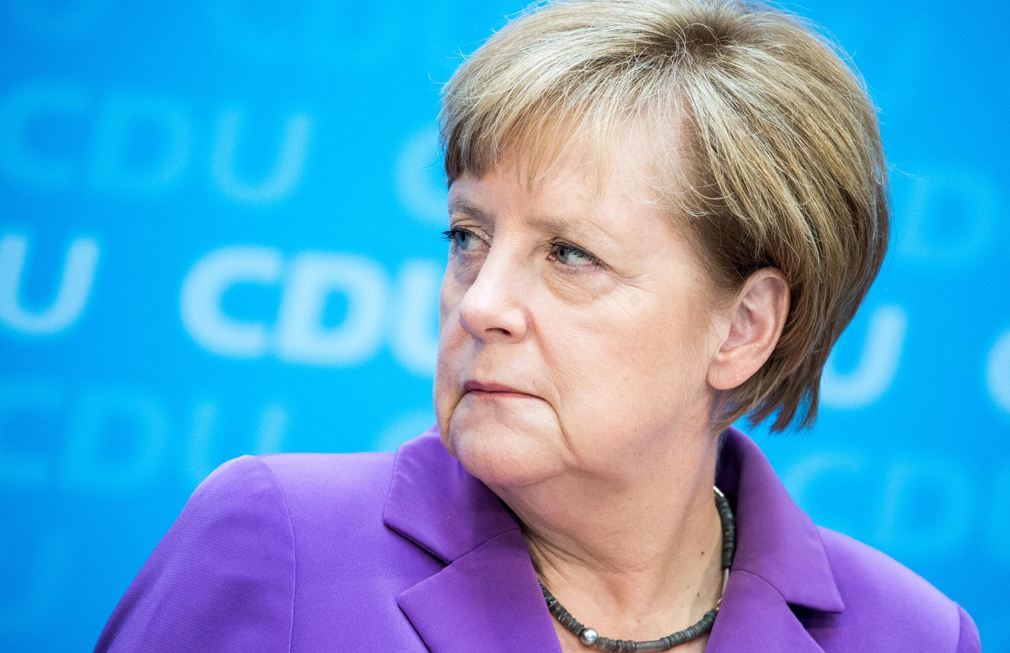 Bild zu Angela Merkel, Hart aber fair
