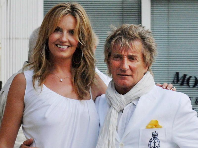 Bild zu Rod Stewart und Penny Lancaster