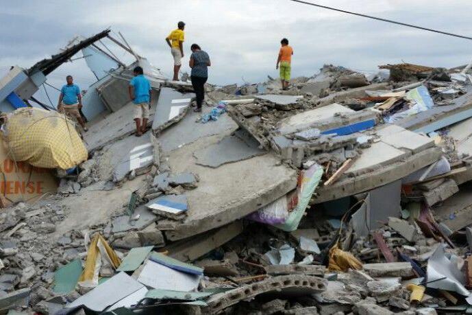 UNICEF, Erdbeben Ecuador