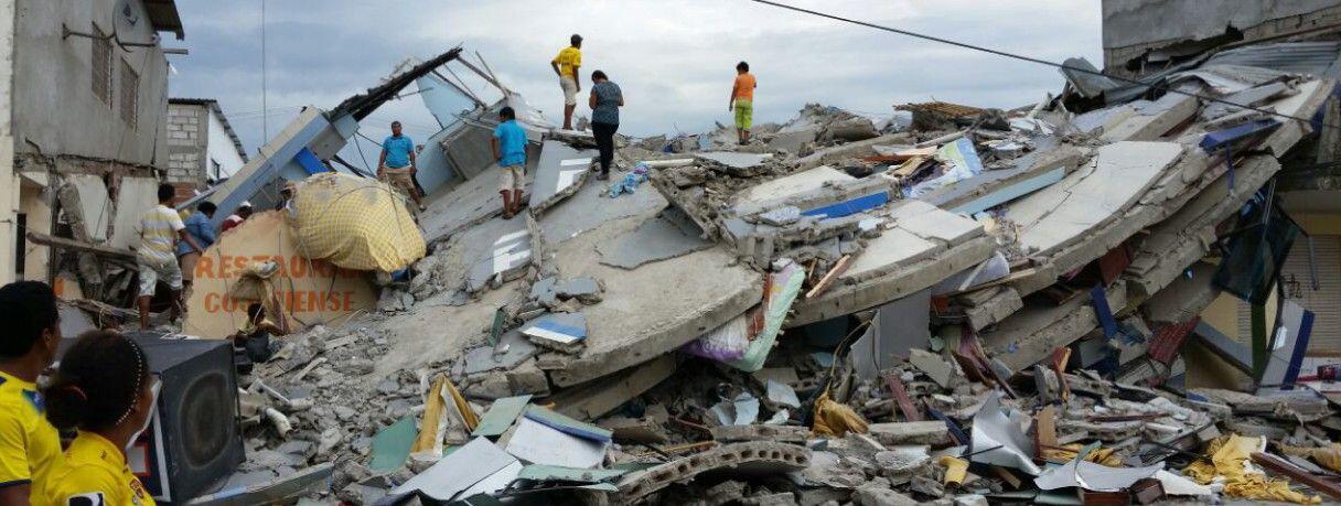 Bild zu UNICEF, Erdbeben Ecuador