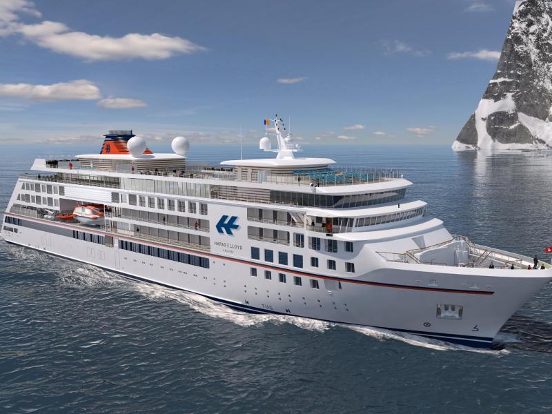 Bild zu Expeditionsschiff von Hapag-Lloyd Cruises