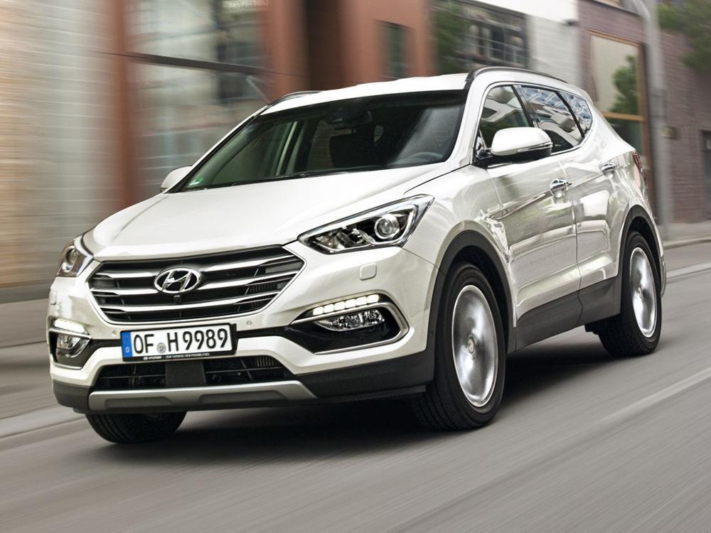 Bild zu Platz 11: Hyundai Santa Fe 2.2 CRDi