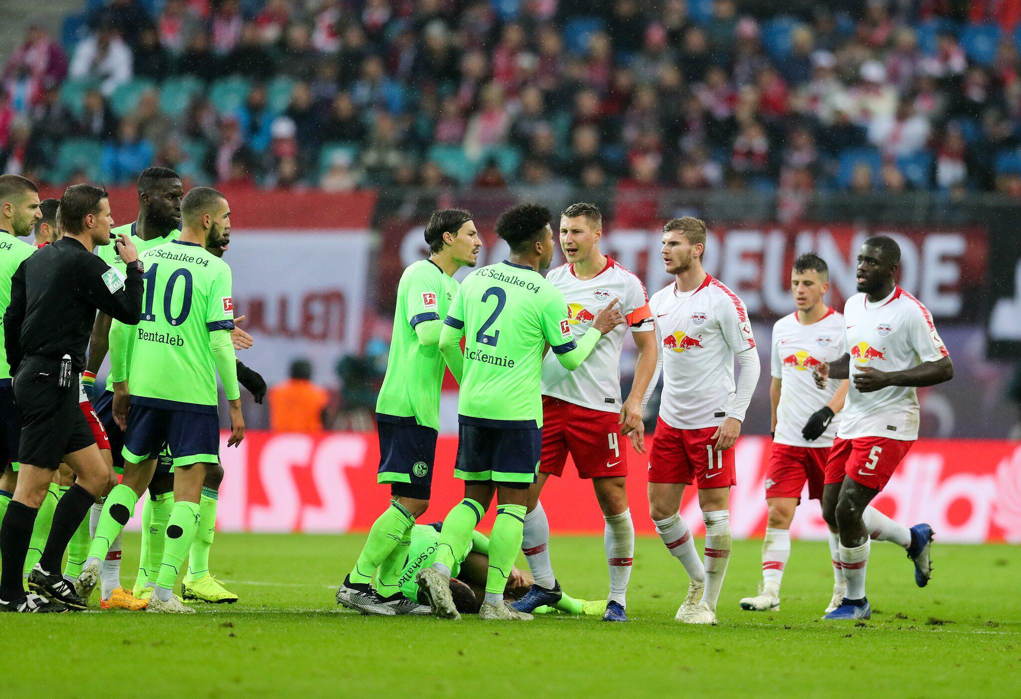 Bild zu Leipzig and Schalke play out stalemate