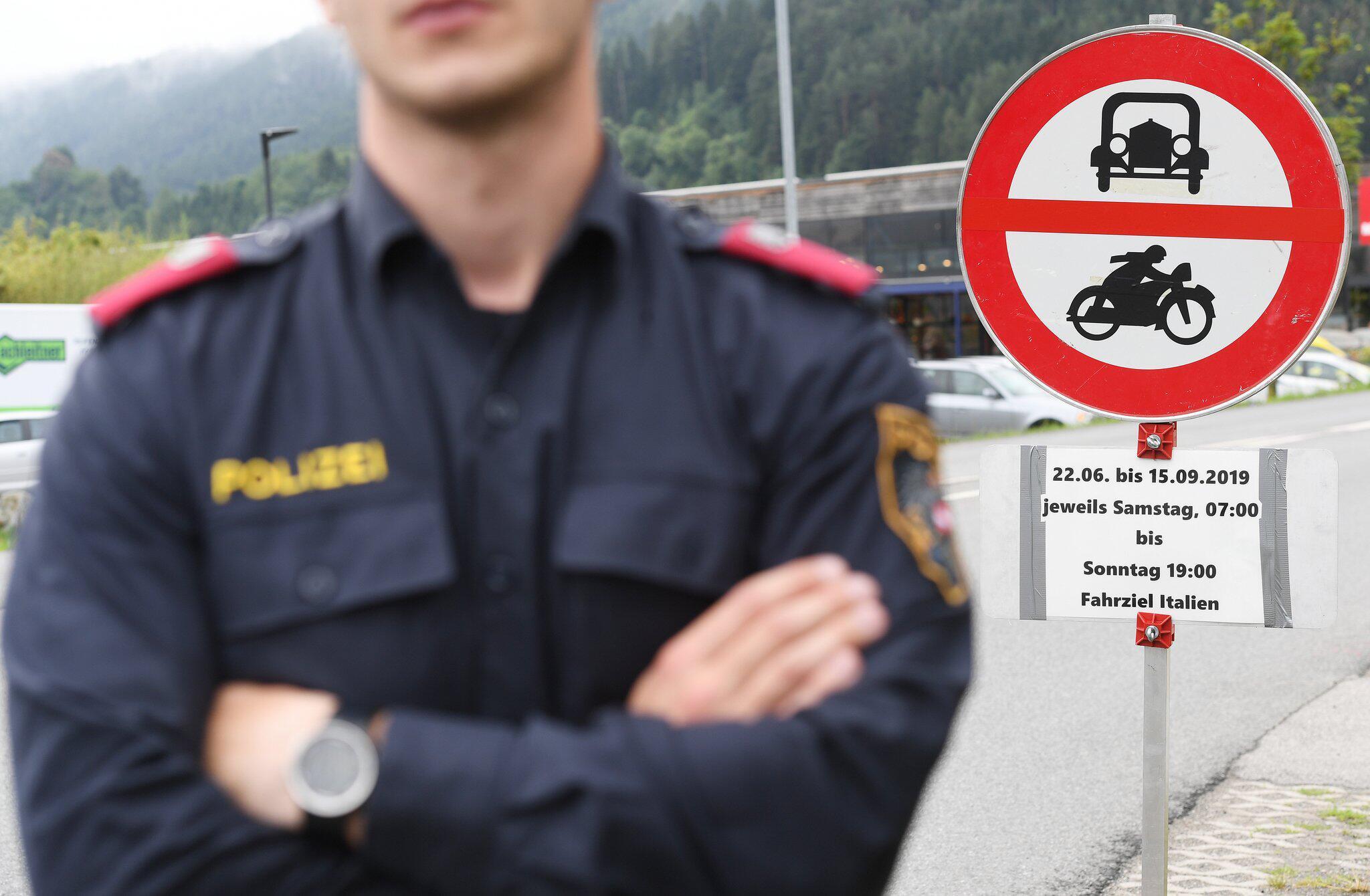 Bild zu Fahrverbote in Tirol