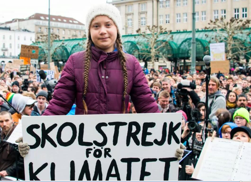 Bild zu Greta Thunberg, Schweden, Klimakampf, Klimastreik
