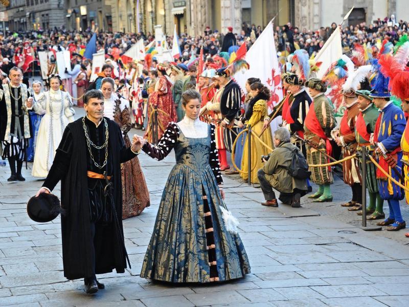 Bild zu Epiphanias-Umzug in Florenz