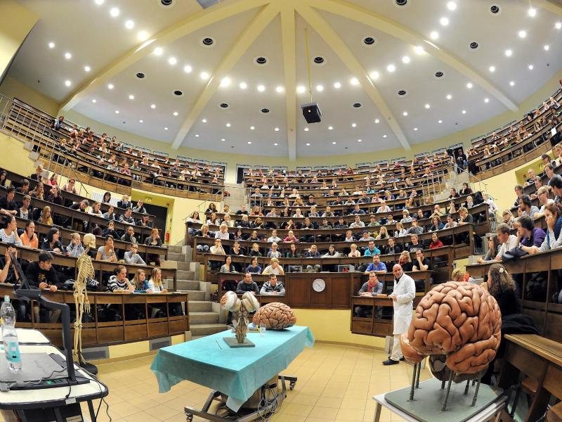 Bild zu Medizinvorlesung