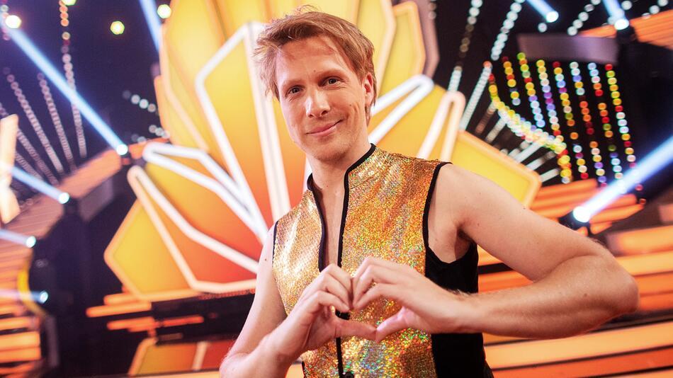 Moderator Oliver Pocher bei Tanzshow Let's Dance