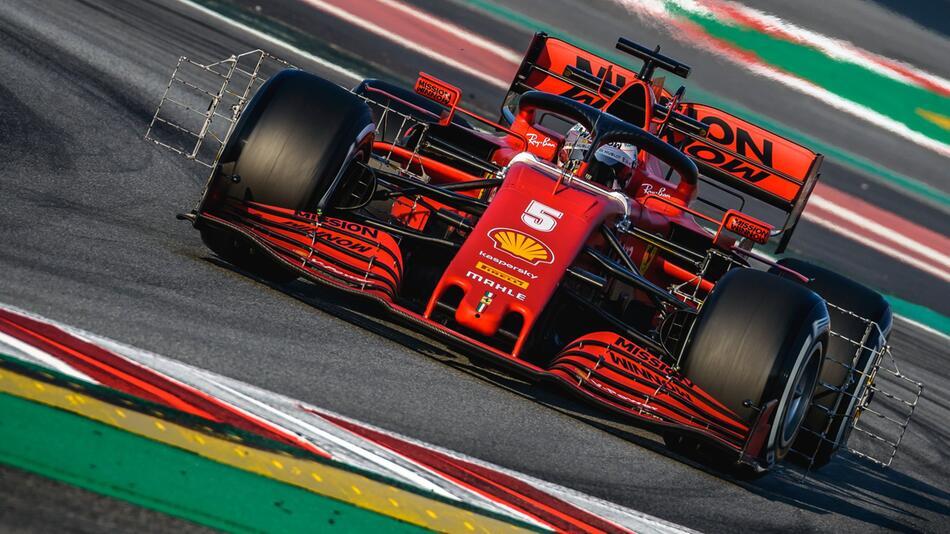 Formel 1: Testfahrten vor der neuen Saison