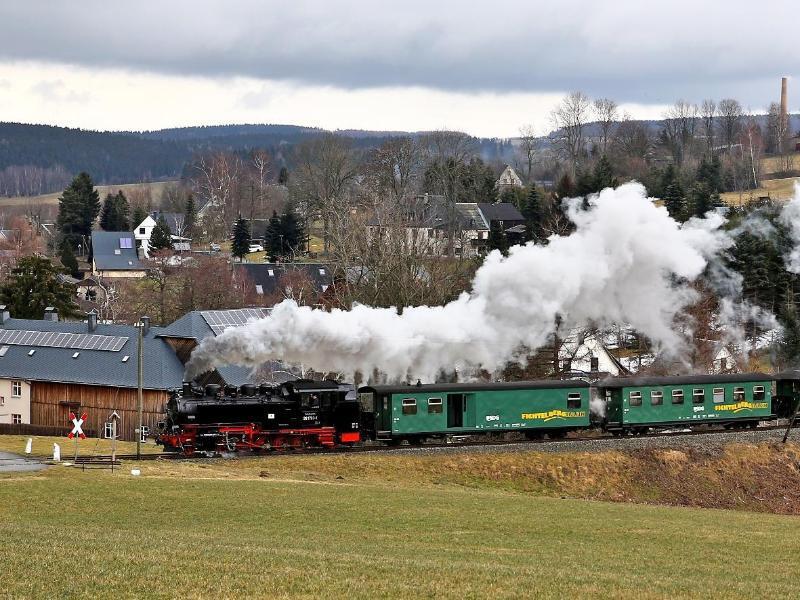 Bild zu Dampfeisenbahn in Sachsen