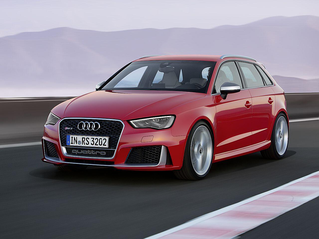 Bild zu 1. Platz: Audi RS 3 Sportback