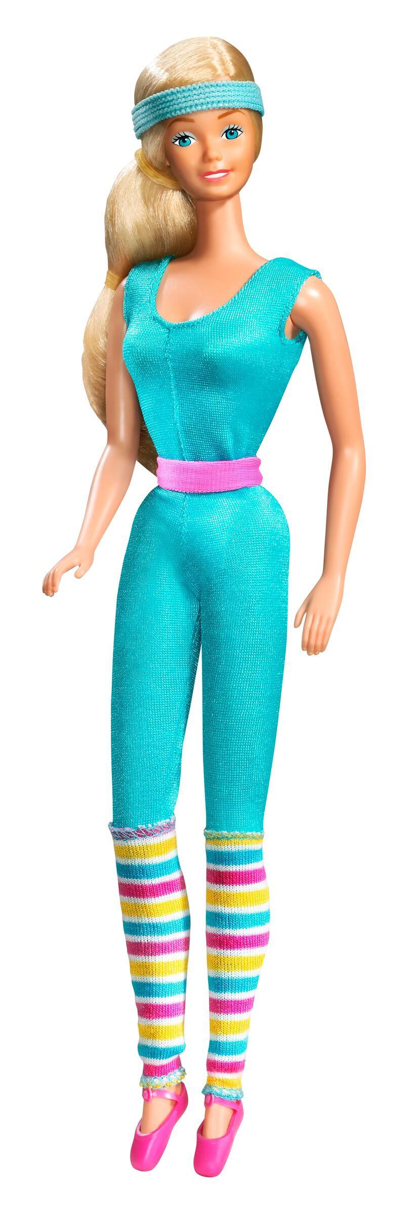 Bild zu 1984 - Aerobic - Barbie