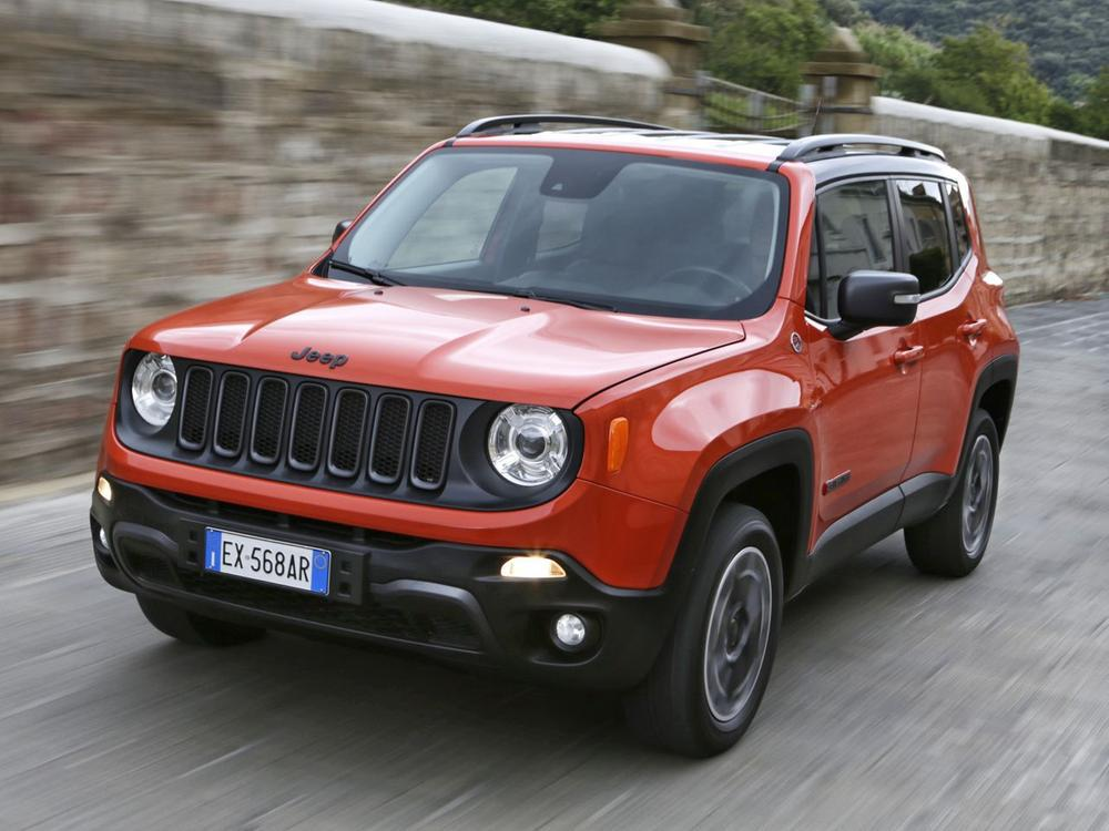 Bild zu Platz 7: Jeep Renegade 1.6 Multijet