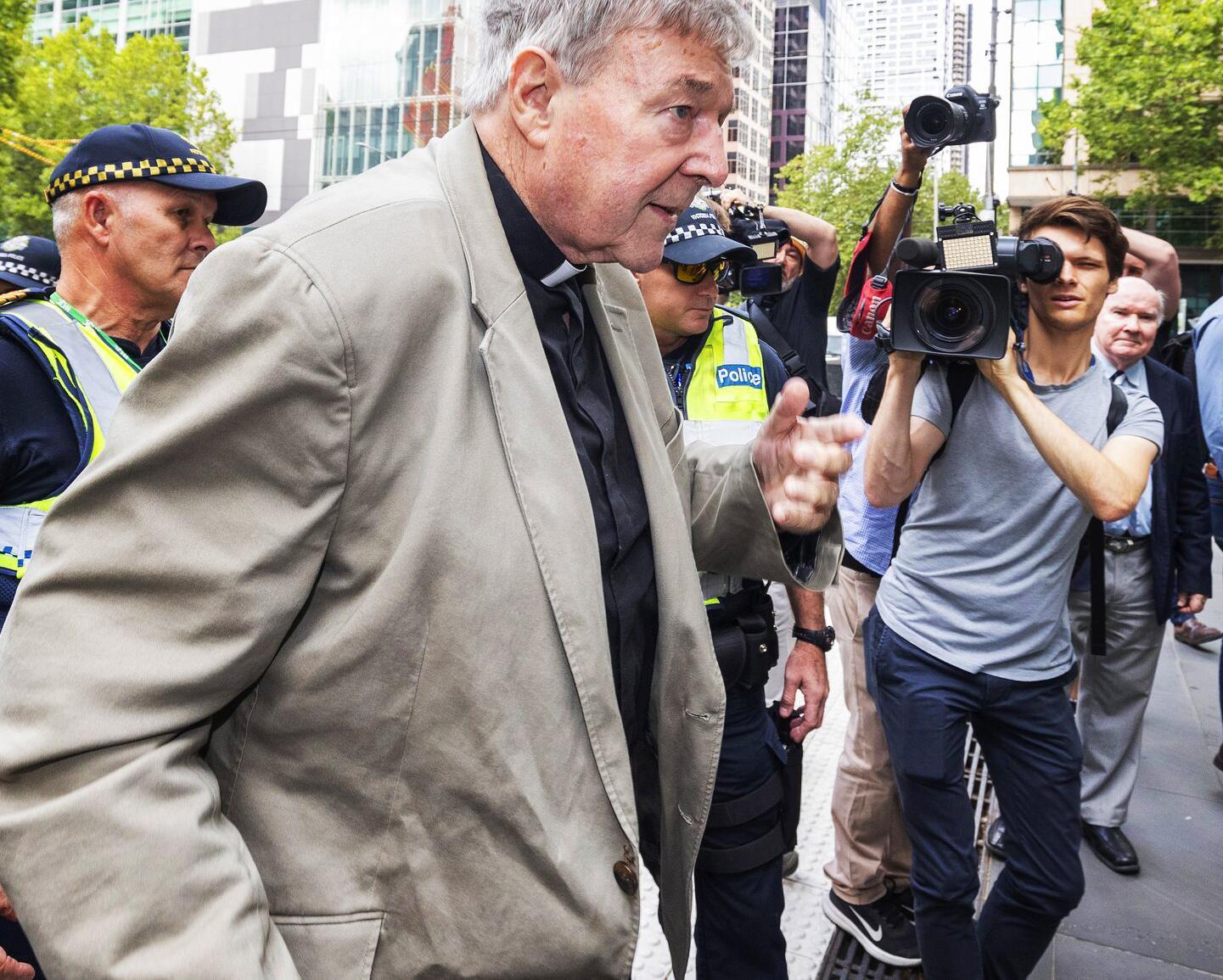 Bild zu George Pell für schuldig befunden