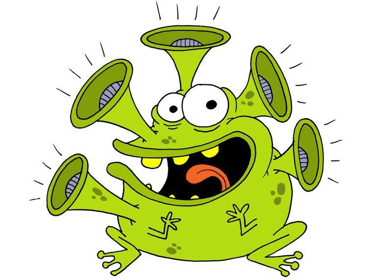 Bild zu Der Lautfrosch
