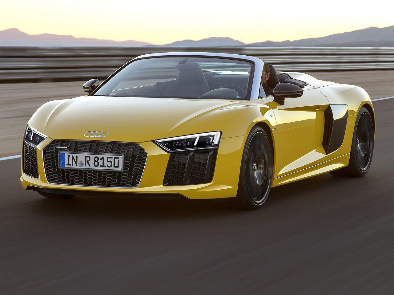 Bild zu Audi R8 Spyder