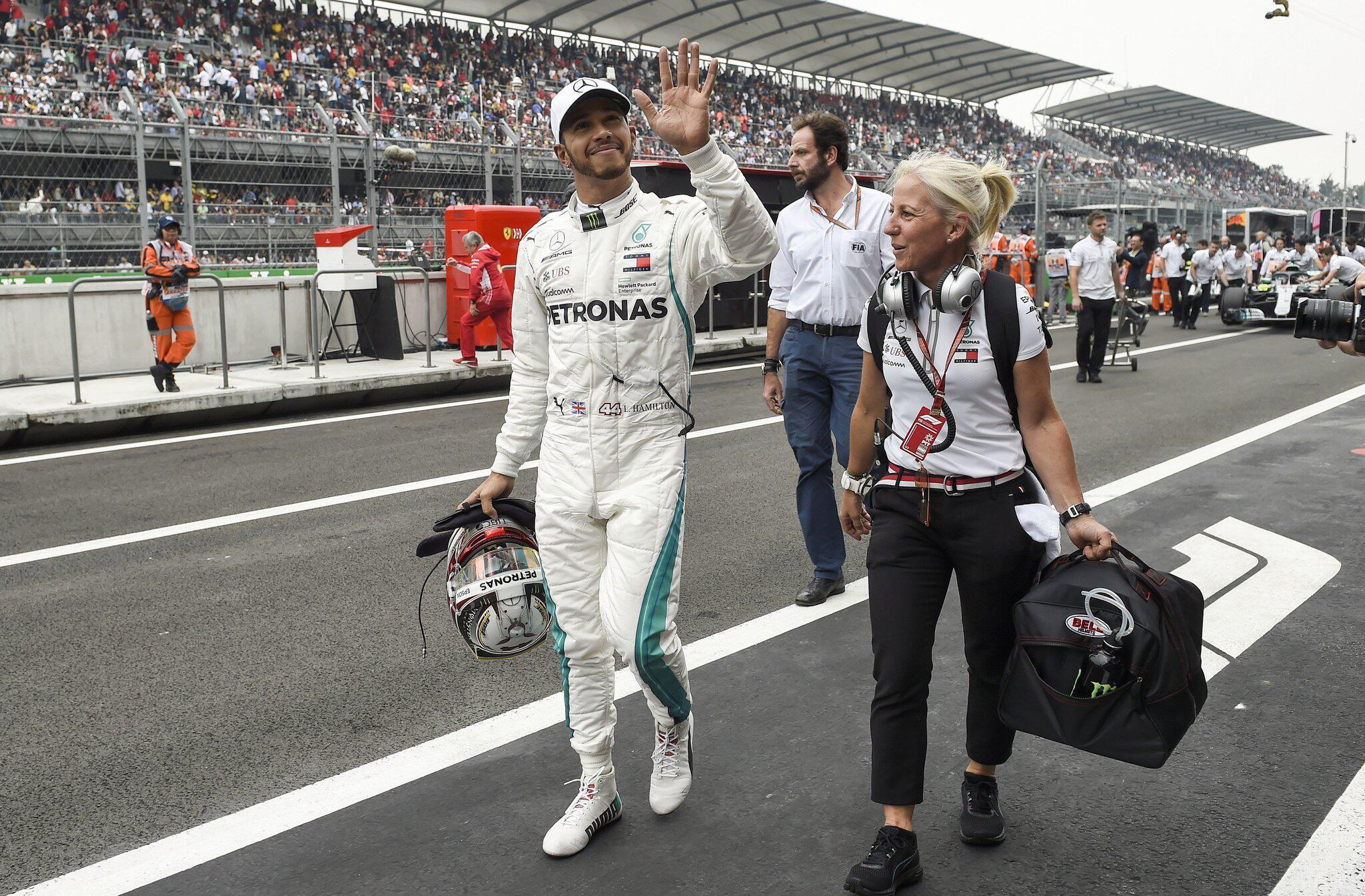 Bild zu Formel 1 - Großer Preis von Mexiko - Qualifying