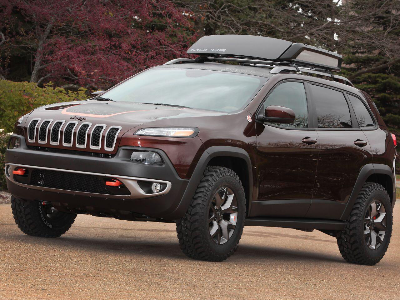 Bild zu Jeep Cherokee Trail Carver: Umfangreicher Umbau für einen imposanten Auftritt