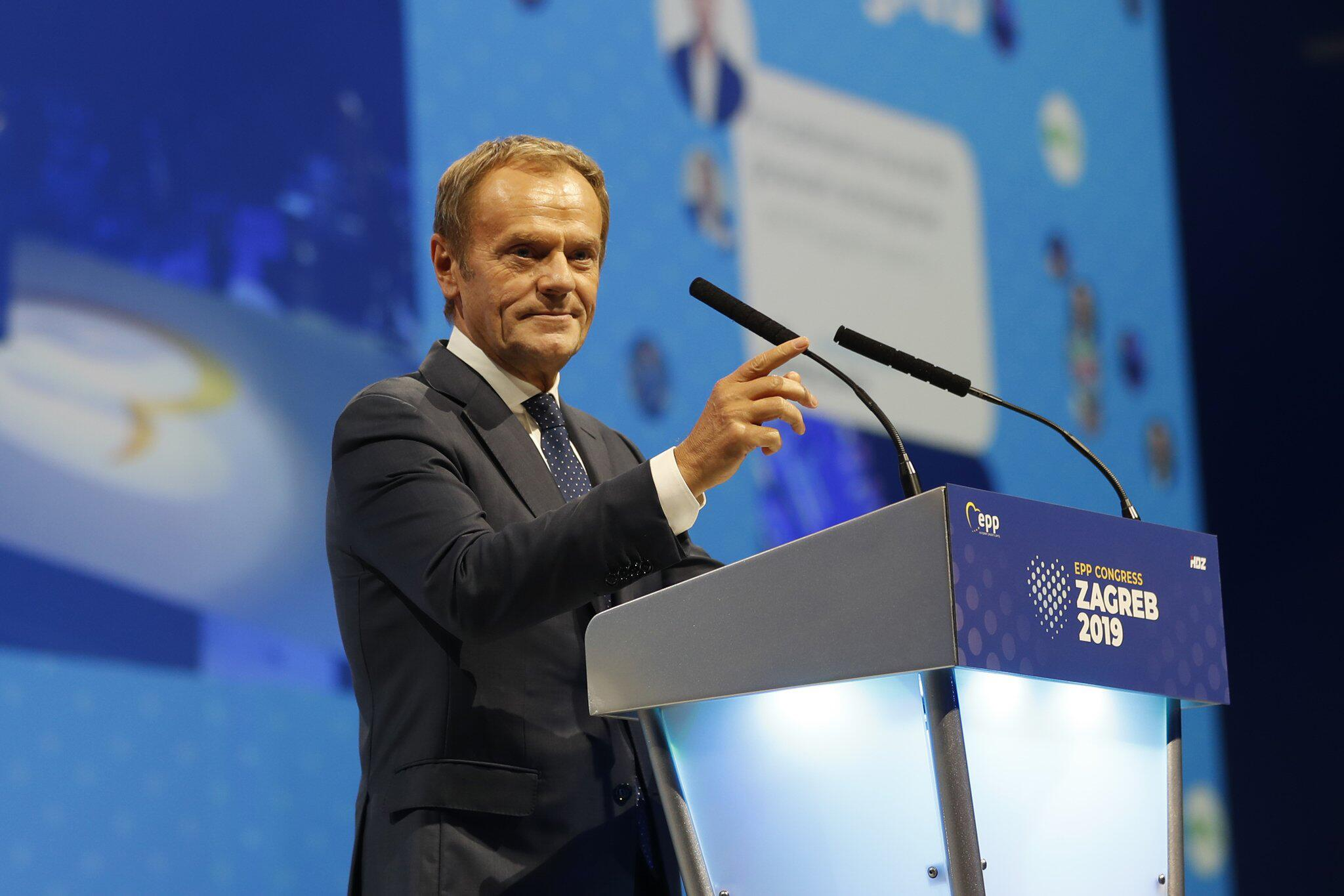 Belgien - EU-Ratspräsident Tusk übergibt Amtsgeschäfte an Nachfolger Michel