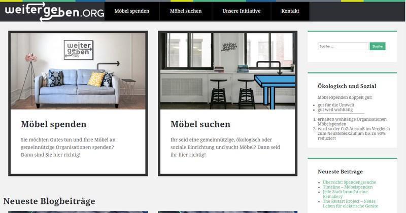 surftipp gebrauchte m bel f r soziale einrichtungen spenden web de. Black Bedroom Furniture Sets. Home Design Ideas