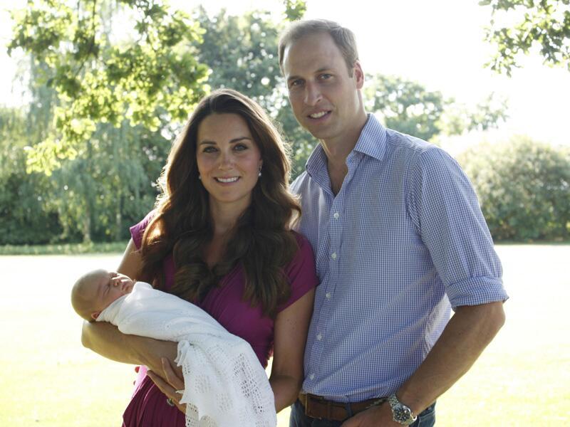 Bild zu Die Taufe von Prinz George steht an