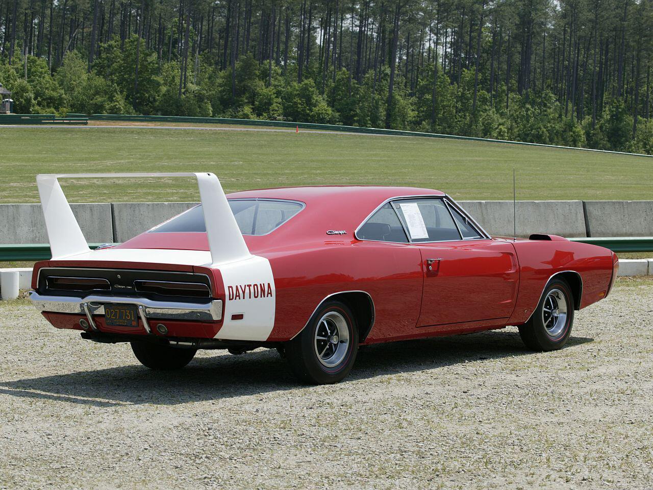 Bild zu Amerikanische Sportwagenlegende: Der imposante Dodge Charger Daytona