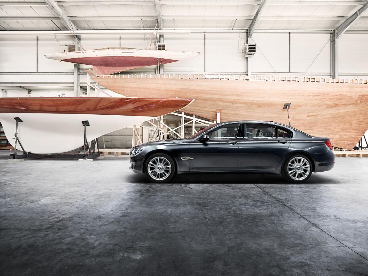 Bild zu Aufpolierter BMW Individual 760Li Sterling inspired by Robbe