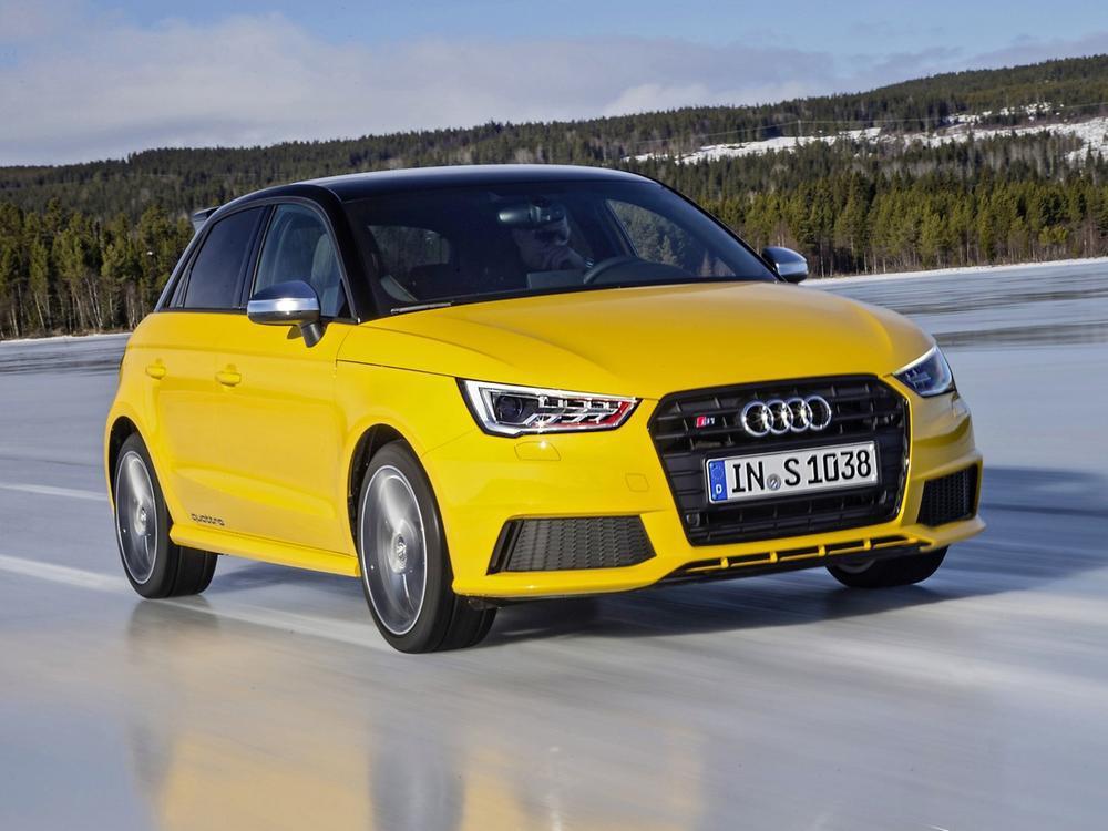 Bild zu Audi S1