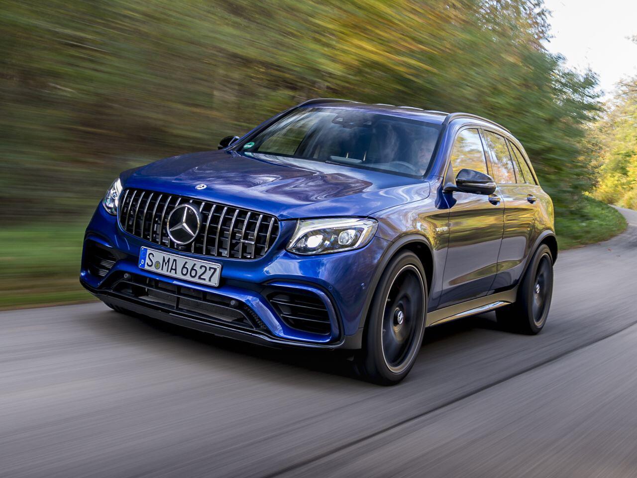 Bild zu Mercedes-AMG GLC 63