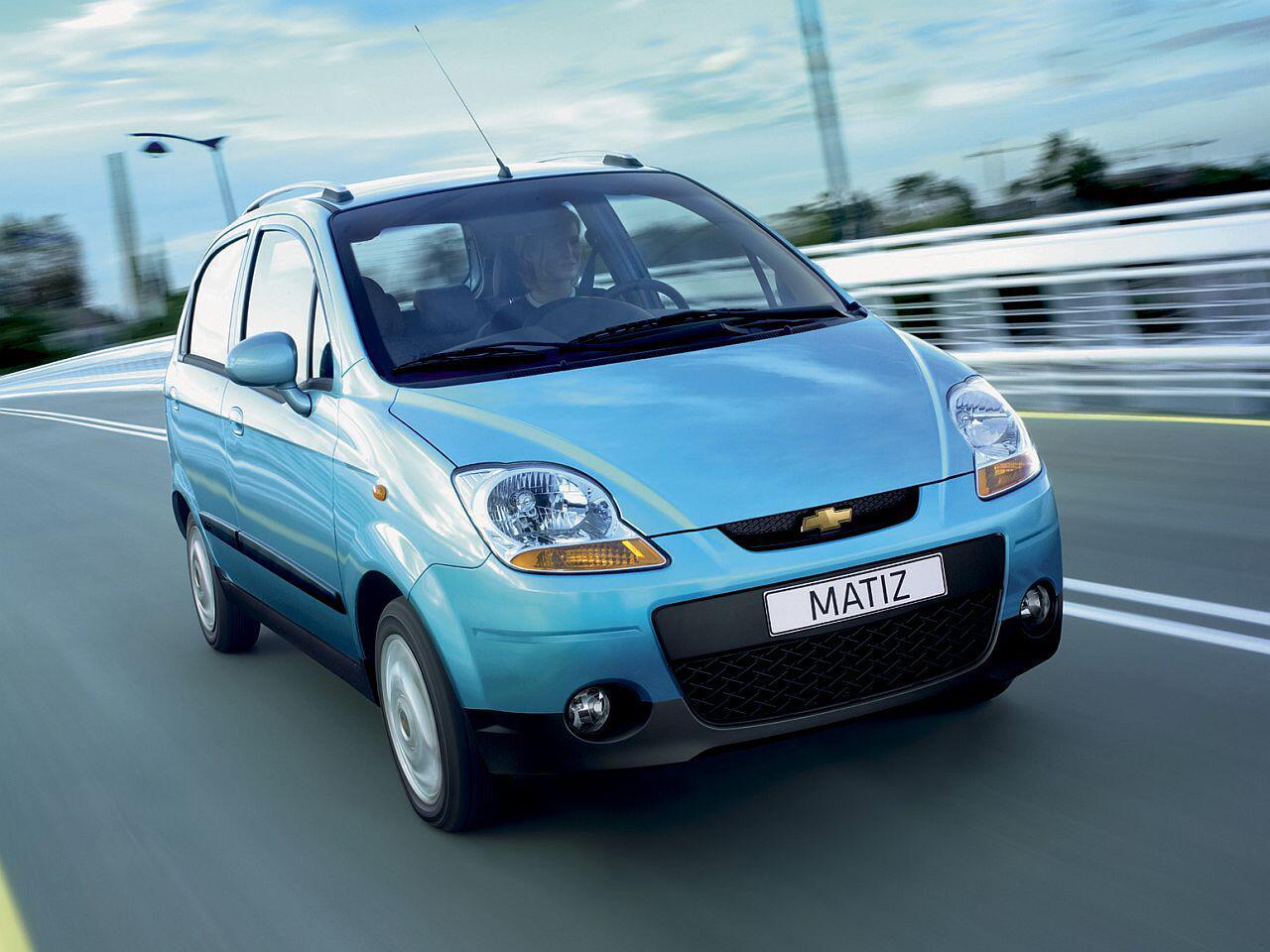 Bild zu Platz 3: Chevrolet Matiz