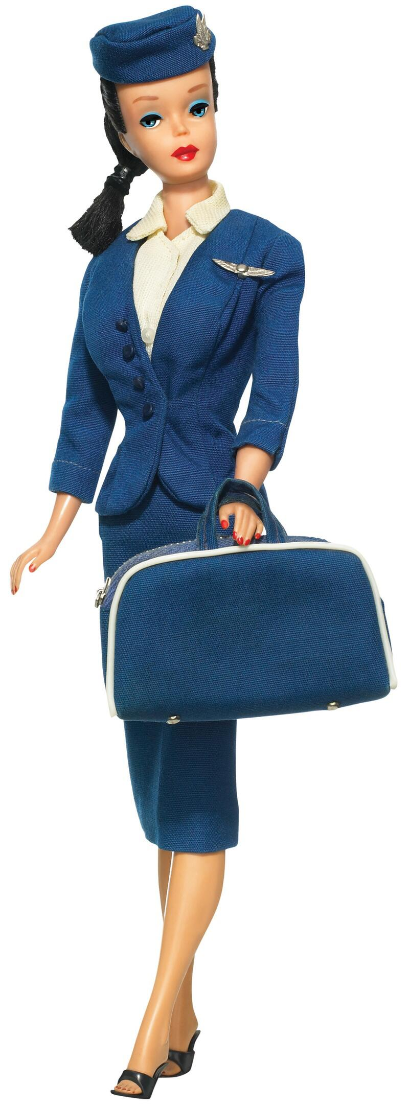Bild zu 1961 - Stewardess - Barbie