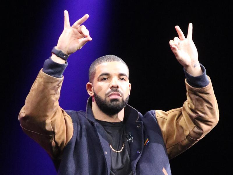 Bild zu Rapper Drake