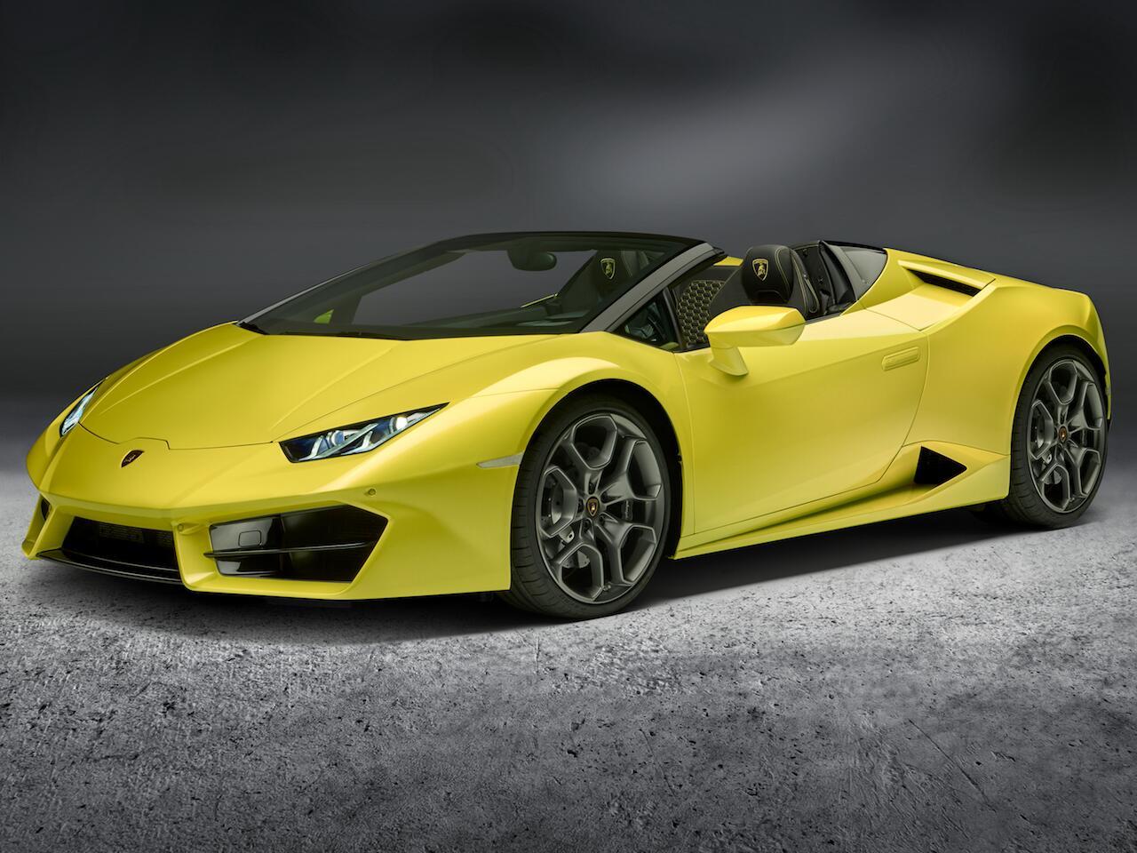 Bild zu Lamborghini Huracán Spyder