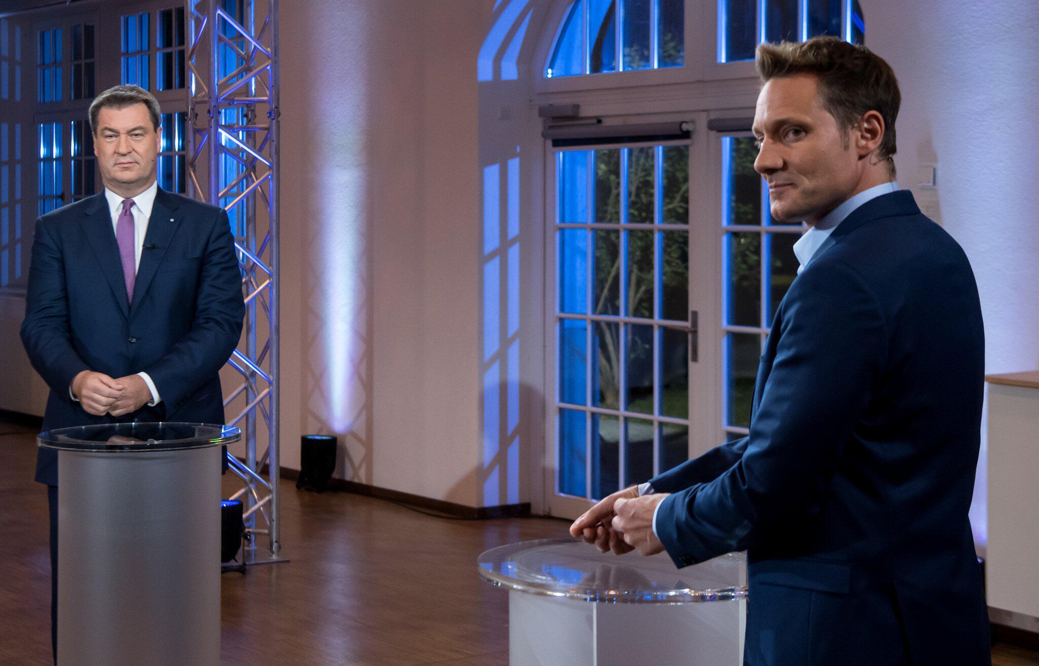 Bild zu TV-Duell vor der Landtagswahl
