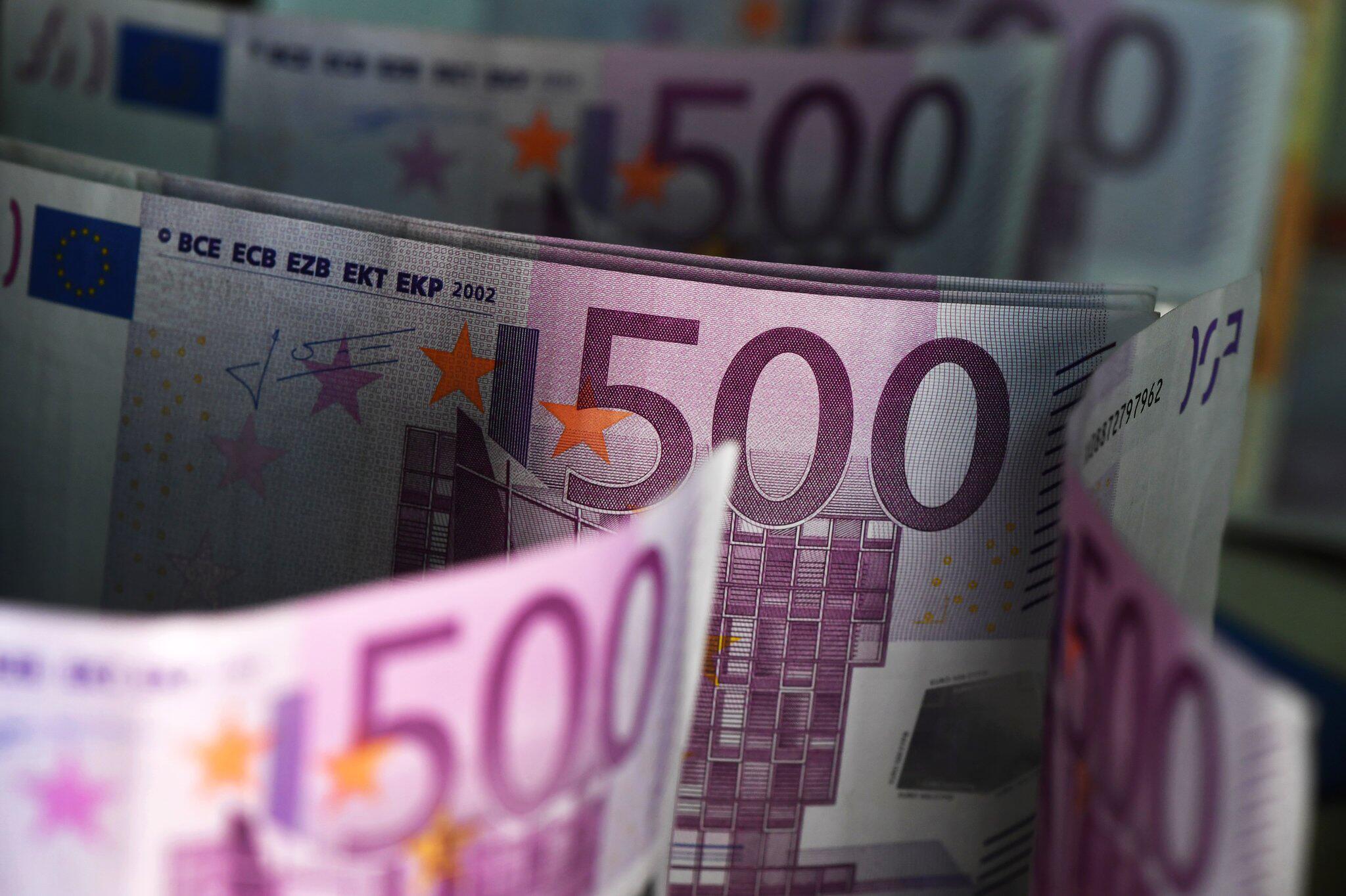 Bild zu Fünfhundert-Euro-Scheine